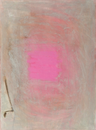 Shirley Nisbet - Oil Painting - Pink Floating in Silver - resized.jpg